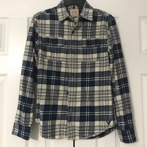 Men's AE Flannel shirt— Size XS
